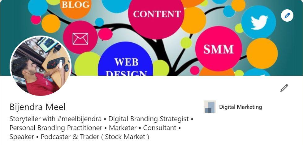 About Us - meelbijendra   Trader, Digital Branding & Personal Branding   social media influencer  