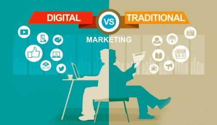 Digital Marketing over Traditional Marketing – Advantages and Disadvantages