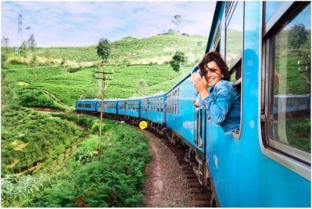 This train passes through 12 states of India