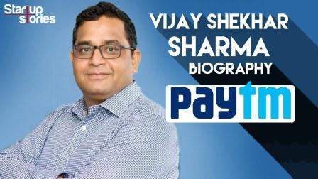 Paytm founder: Vijay Shekhar Sharma's life story!